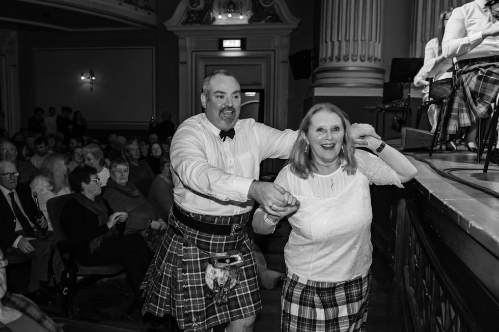 Dancing in The Usher Hall