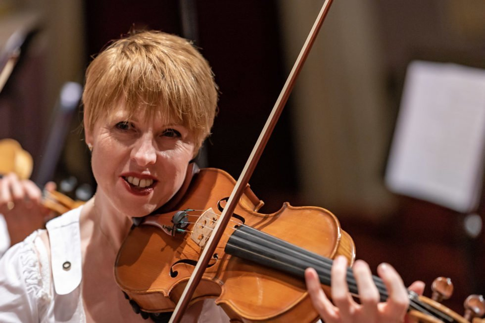 June Nelson, Leader of the 2nd Fiddles